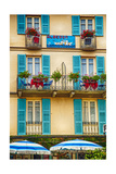 Shutters And Windows Photographic Print by George Oze