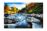 New England Rocky Creek Photographic Print by George Oze