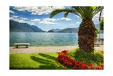 Lake View From Menaggio Photographic Print by George Oze