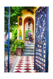 Open Doorway To Southern Living Photographic Print by George Oze