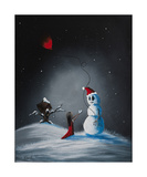 A Christmas Friend Photographic Print by Shawna Erback