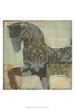 Patterned Horse I Prints by Tim