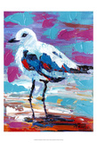 Seaside Birds II Poster by Carolee Vitaletti