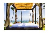 Caribbean Cabana, Puerto Rico Photographic Print by George Oze