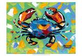 Seaside Crab II Plakat af Carolee Vitaletti