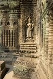Stone Carvings of Apsara at Angkor Wat, Cambodia Photographic Print by Paul Souders
