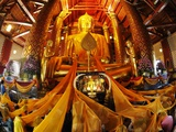 Wat Phanan Choeng Ceremony;Luang Pho Tho Photographic Print by Terry Eggers