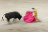 Bullfight in the Plaza De Toros Monumental De Las Ventas Reproduction photographique par Jon Hicks