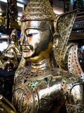 Gold Statue at Grand Palace Photographic Print by Terry Eggers