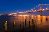 San Francisco Bay Bridge Photographic Print by  nstanev