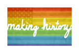 Making History - Love Wins Wall Decal