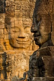 Bayon Temple, Angkor Wat, Siem Reap, Cambodia Photographic Print by Paul Souders