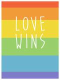 Making History - Love Wins Znaki plastikowe
