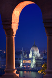 Parliament Building in Budapest Photographic Print by Jon Hicks
