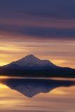 Mt. Shasta at Sunrise Photographic Print by  DLILLC