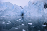 Icebergs Reflected in the Sea Photographic Print by  DLILLC