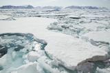 Sea Ice Surrounding Islands Photographic Print by  DLILLC