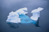 Iceberg Seen above and below Water Photographic Print by  DLILLC