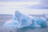 Iceberg with Pack Ice in Distance Photographic Print by  DLILLC