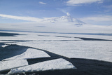 Sea Ice with Mount Erebus in Distance Photographic Print by  DLILLC