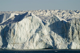Face of Glacier Entering the Sea Photographic Print by  DLILLC