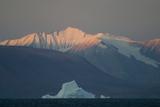 Greenland Coastline and Iceberg Photographic Print by  DLILLC