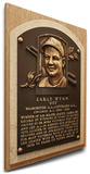 Early Wynn Baseball Hall of Fame Plaque on Canvas (Small) - Cleveland Indians Stretched Canvas Print