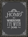 Home Is Prints by Patricia Pino