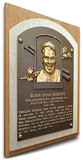Robin Roberts Baseball Hall of Fame Plaque on Canvas (Small) - Philadelphia Phillies Stretched Canvas Print