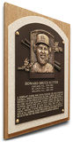 Bruce Sutter Baseball Hall of Fame Plaque on Canvas (Small) - St Louis Cardinals Stretched Canvas Print