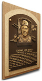 Johnny Bench Baseball Hall of Fame Plaque on Canvas (Small) - Cincinnati Reds Stretched Canvas Print