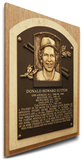 Don Sutton Baseball Hall of Fame Plaque on Canvas (Small) - Los Angeles Dodgers Stretched Canvas Print