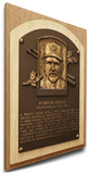 Robin Yount Baseball Hall of Fame Plaque on Canvas (Small) - Milwaukee Brewers Stretched Canvas Print