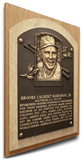 Brooks Robinson Baseball Hall of Fame Plaque on Canvas (Small) - Baltimore Orioles Stretched Canvas Print