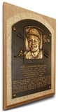 Joe Morgan Baseball Hall of Fame Plaque on Canvas (Small) - Cincinnati Reds Stretched Canvas Print