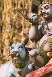 Detail of the Sri Mariamman Temple Photographic Print by Jon Hicks