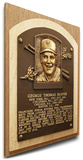 Tom Seaver Baseball Hall of Fame Plaque on Canvas (Small) - New York Mets Stretched Canvas Print