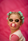Sassy Toddler Photographic Print by  DLILLC