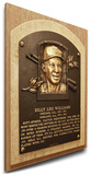Billy Williams Baseball Hall of Fame Plaque on Canvas (Small) - Chicago Cubs Stretched Canvas Print