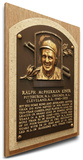 Ralph Kiner Baseball Hall of Fame Plaque on Canvas (Small) - Pittsburgh Pirates Stretched Canvas Print