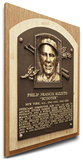 Phil Rizzuto Baseball Hall of Fame Plaque on Canvas (Small) - New York Yankees Stretched Canvas Print