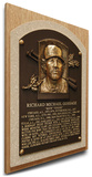 Rich Gossage Baseball Hall of Fame Plaque on Canvas (Small) - New York Yankees Stretched Canvas Print