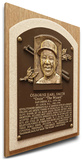 Ozzie Smith Baseball Hall of Fame Plaque on Canvas (Small) - St Louis Cardinals Stretched Canvas Print