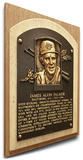Jim Palmer Baseball Hall of Fame Plaque on Canvas (Small) - Baltimore Orioles Stretched Canvas Print
