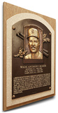 Wade Boggs Baseball Hall of Fame Plaque on Canvas - Boston Red Sox Stretched Canvas Print