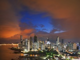 Panama City Skyline from the Punta Pacifica District. Photographic Print by Jon Hicks