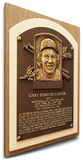 Gary Carter Baseball Hall of Fame Plaque on Canvas (Small) - Montreal Expos Stretched Canvas Print