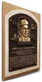 Jim Bunning Baseball Hall of Fame Plaque on Canvas (Small) - Philadelphia Phillies Stretched Canvas Print