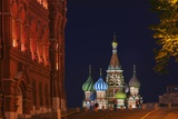 View of St Basil's Cathedral from Manezh Square. Photographic Print by Jon Hicks