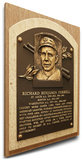 Rick Ferrell Baseball Hall of Fame Plaque on Canvas (Small) - Boston Red Sox Stretched Canvas Print